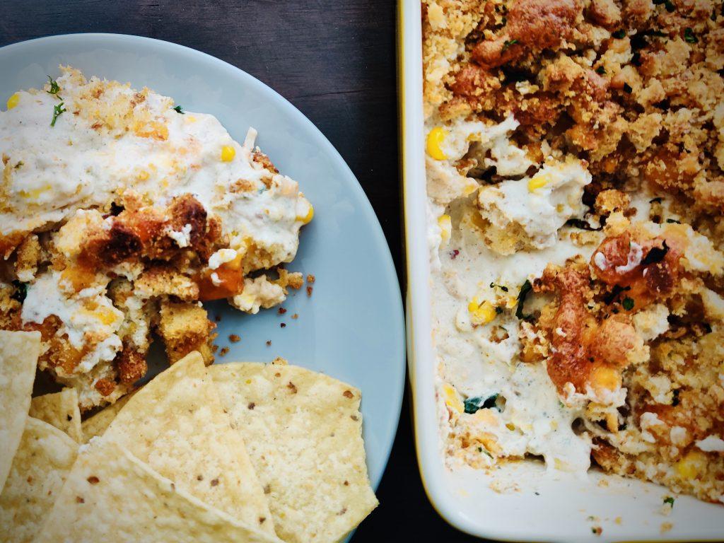 Spicy Cream Cheese Corn Dip Recipe